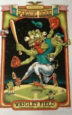 Pearl Jam - 2013 Emek Poster print Wrigley Field Chicago no ames shuss munk
