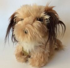 "Vtg Dakin Benji Stuffed Plush Dog 7"" With Name Tag"