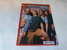 CORROSION OF CONFORMITY -  Fiche d'information / Vintage information sheet !!!