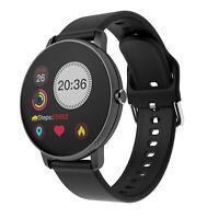 Ecran Tactile Montre Smart Watch Intelligente Barcelet Connectée Bluetooth Noir