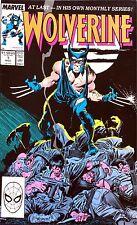 Wolverine #1 (Nov 1988) Marvel Comic Book
