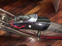 CHROME Bicycle headlight Vintage runs on 1 D-cell COLUMBIA Schwinn etc made 1958