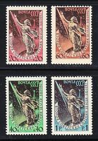 Russia 1957 MNH Sc 2032-2035 Mi 2042-2045 Launching of Sputnik 2.Space set **