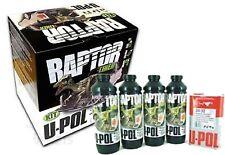 U-Pol Raptor  Urethane Coating CLEAR 4 x 750ml Raptor - 1 litre Raptor activator