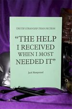 THE HELP I RECEIVED WHEN I MOST NEEDED IT  Finbarr book Magick  Grimoire Occult