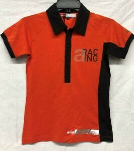 Aprilia Racing Women's Polo Shirt, Size Small, Orange 894394