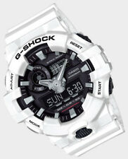 Casio G-Shock Mens Wrist Watch GA700-7A GA-700-7A White/Black Super Illuminator