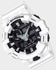 Casio G-Shock Mens Wrist Watch GA700-7A GA-700-7A White/Black Super Illuminator