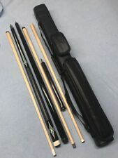 Custom Set ; Kaiser Play Cue J&J Break Cue J&J Jump Cue & 2x3 Case