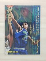 1995-96 Fleer Kevin Garnett RC, Rookie Card, Minnesota Timberwolves