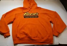 New listing Vintage Reeses Peanut Butter Cups Embroidered Logo Hoode Size Large