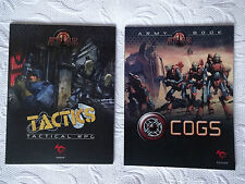 AT-43 Tactics tactical RPG + COGS army book NEUF Rackam