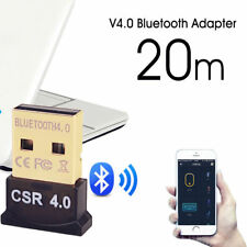 Bluetooth 4.0 USB 2.0 CSR Dongle Adapter FIT PC LAPTOP WIN XP VISTA 7 8 10 fv