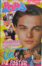 POP'S 15 1998 Leonardo Di Caprio Ricky Martin Nek Mietta Cleopatra Spice Girls