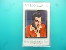 "MARIO LANZA  "" WITH A SONG IN MY HEART - THE LOVE COLLECTION ""  CASSETTE"