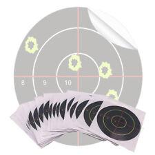 "100 Pcs/Lot Splatter Blossom Target Stickers, Pattern 8910 Cross, Diameter 3""/7."