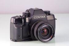 Premium Classico SLR Contax St + Carl Zeiss Distagon 2.8/35mm C/E Vintage