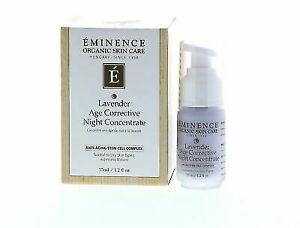 Eminence Lavander Age Corrective Night Concentrate 35ml / 1.2oz