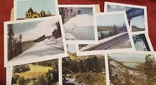 Southern Pacific RR Scenic Grandeur Of The West 16 Prints 1943