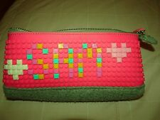 Upixel Pen case Pencil case 300+ color chips You make the design! EUC