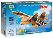 Zvezda 7241 Russian Airplane Supermaneuverable Fighter SU-37 1/72