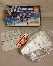 VINTAGE 1978 STAR WARS - LUKE SKYWALKER'S X-WING FIGHTER MODEL KIT - UNASSEMBLED
