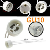 5/10Pcs Lamp Halogen Socket High Quality Base NEW Ceramic Lot GU10 LED Bulbs