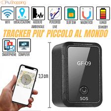 LOCALIZZATORE SATELLITARE MINI GPS TRACKER REGISTRAZIONE VOCALE GSM GPRS AUTO