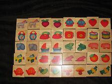 Waldorf Montessori Wooden Memory Matching Game Toy