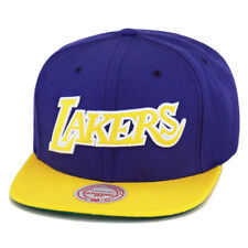 "Mitchell & Ness LA Lakers Snapback Hat Cap Purple/Yellow/Yellow ""Lakers"""