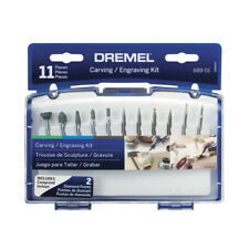 Dremel 11-Piece CARVING ENGRAVING KIT for POWER ROTARY TOOLS Grinding Sharpening