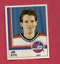 RARE 1987 JETS  # 362 JIM KYTE  ROOKIE  STICKER CARD