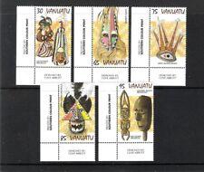 VANUATU (1997) - 5V (**MNH) - MASQUES - Y&T 1048/1052 (COINS)