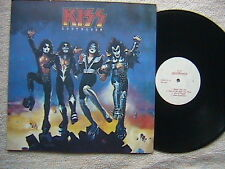 "KISS ""DESTROYER"" LP RUSSIAN IMPORT WHITE LABEL MINT & UNPLAYED"