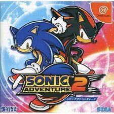 Sonic Adventure 2 Sega Dreamcast DC Import Japan