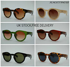 80s Retro fashion hype sunglasses vtg remade stud keyhole round good quality