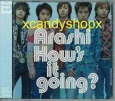 ARASHI 2003 album How's it going? CD Japan Limited edition