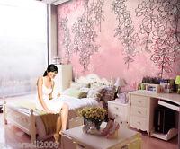 Hanging Plant Modern Simple Warm Bedroom TV background Wallpaper Custom Size