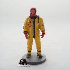 Figurine Del Prado Pompier Tenue Plongeur Anti Froid Montréal Canada 2003