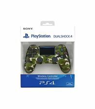 Sony Ps4 - Controller Dualshock 4 V2 Green Camouflage Wireless