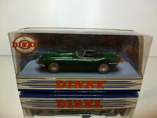 DINKY TOYS DY-1 JAGUAR E-TYPE MK 1½ - 1968 - GREEN 1:43 - EXCELLENT IN BOX