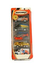 MATCHBOX-ULTRA RESCUE-5-PACK GIFT SET-2001-97214-NEW-50 YEARS-