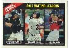 2015 Topps Heritage Minor League #200 Jordy Lara/Steven Souza Jr./Chance Sisco N