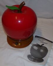 Chocomaker Apple Dipper Model 9820 Works Electric Fondue Pot