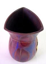 vJugendstil Keramik - metallische Glasur - Kunstcraquele -  Bürgel  van de Velde