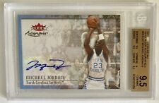 Michael Jordan 2013-14 Fleer Autographics Autograph BGS 9.5 GEM Auto 10 POP-3 🔥