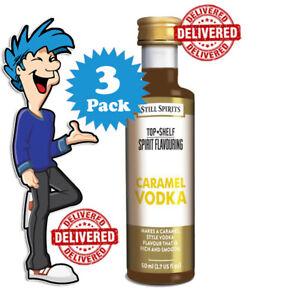 Caramel Vodka Spirit Essence x 3 @ $33.99 By Still Spirits Top Shelf