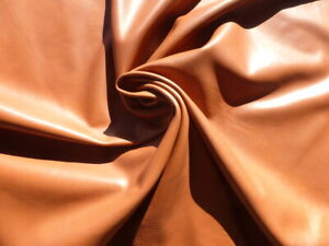lambskin sheepskin lamb leather hide Rum Brown glove soft smooth finish 1 1/2oz
