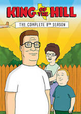 King Of The Hill: The Complete 8th Season DVD eighth new sealed 8