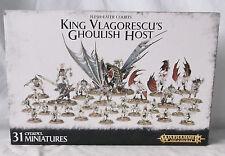 Warhammer AoS Flesh-eater Courts King Vlagorescu's Ghoulish Host-NIB-OOP